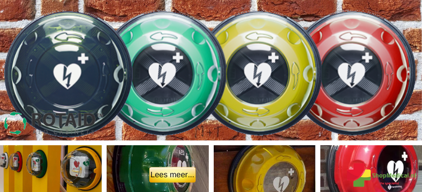 Rotaid AEDkasten serie